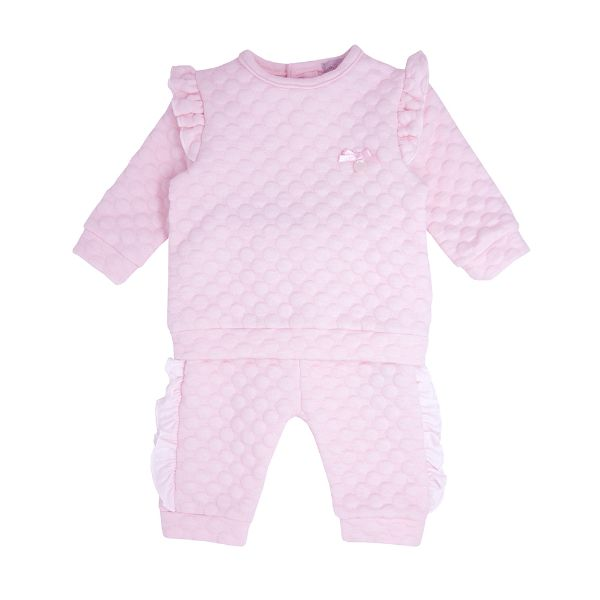 Picture of Blues Baby Girl Pink 2 Piece Tracksuit