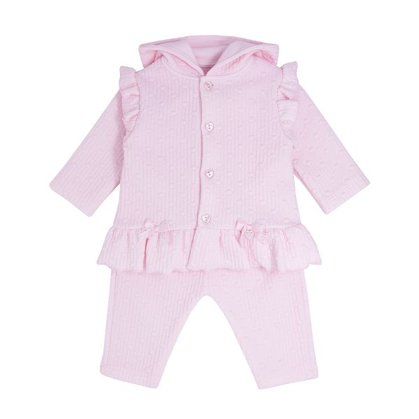 Picture of Blues Baby Girls Pink 3 Piece Tracksuit