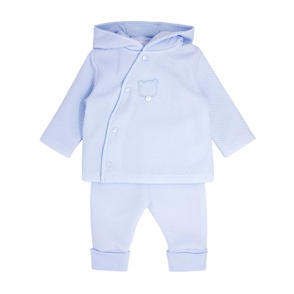 Picture of Blues Baby Blue 3 Piece Teddy Tracksuit