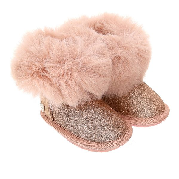 Picture of Monnalisa Baby Girls Pink Boots