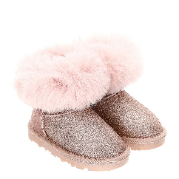 Picture of Monnalisa Girls Pink Boots