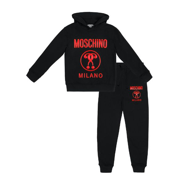 Picture of Moschino Boys Black Tracksuit