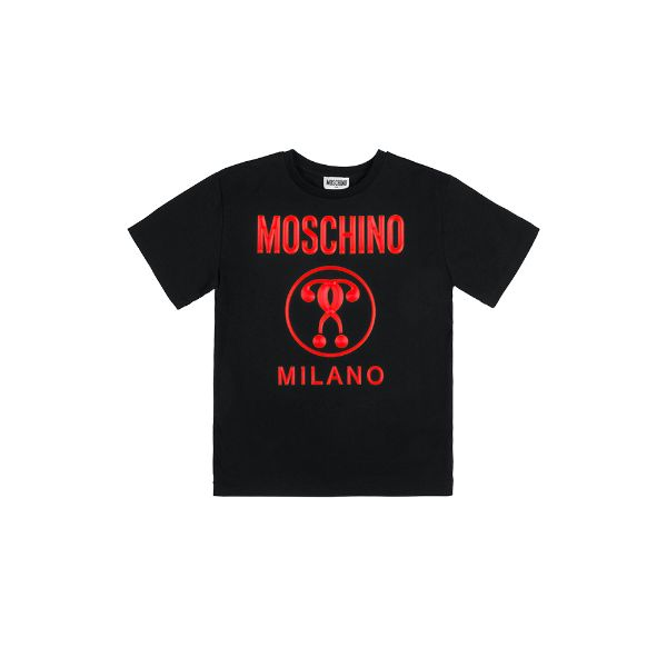 Picture of Moschino Boys Black T-Shirt