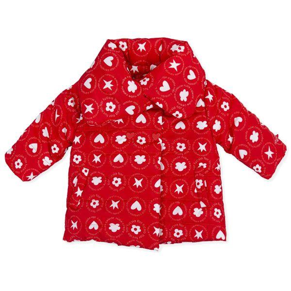 Picture of Agatha Ruiz De La Prada Baby Girls Red Printed Coat