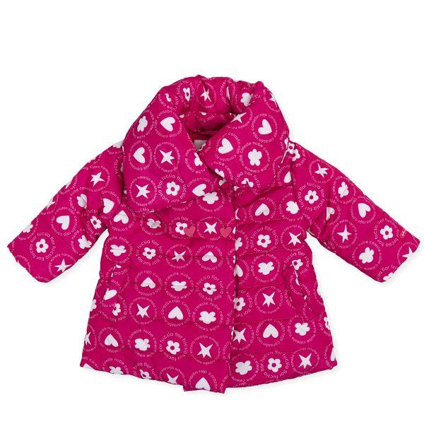 Picture of Agatha Ruiz De La Prada Baby Girls Pink Printed Coat