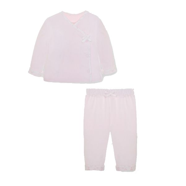 Picture of Pom Petit Pom Baby Girls Pink Velour Set