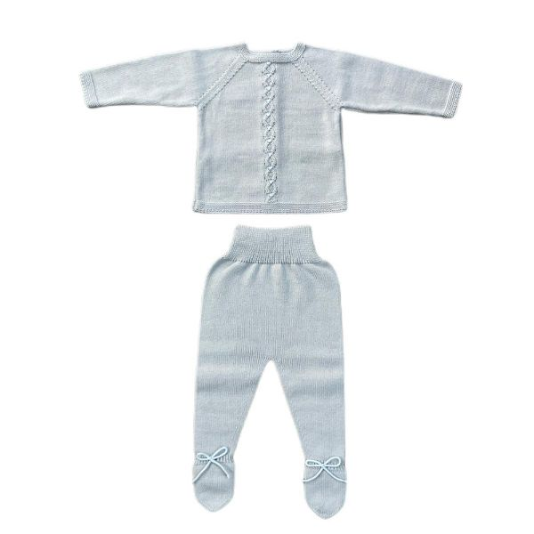 Picture of Granlei Boys Grey Knitted Set