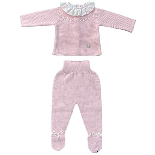 Picture of Granlei Girls Pink Knitted Set