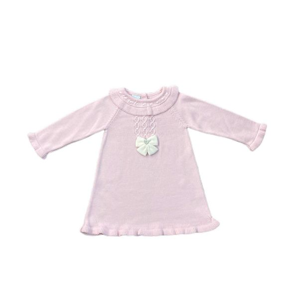 Picture of Granlei Girls Pink Knitted Dress