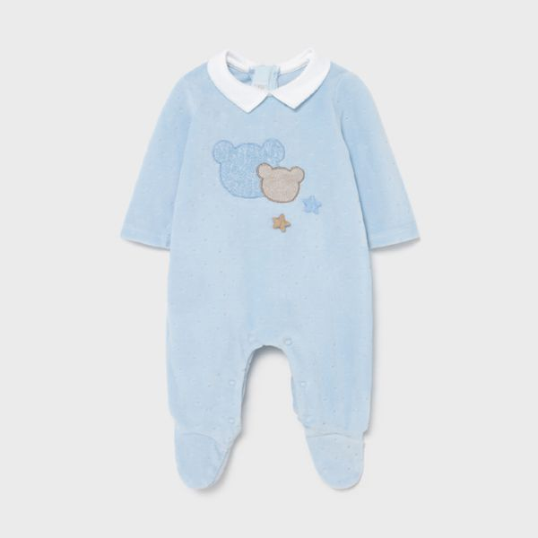 Picture of Mayoral Baby Boys Blue Romper
