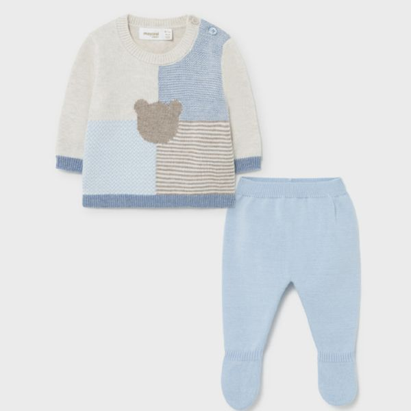 Picture of Mayoral Baby Boys Blue 2 Piece Set