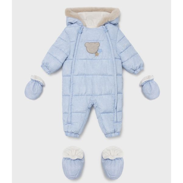 Picture of Mayoral Baby Boys Blue Pram suit