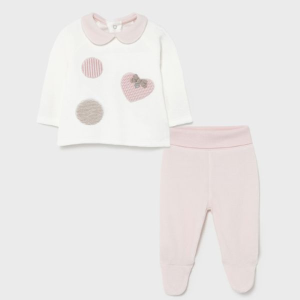 Picture of Mayoral Baby Girls Pink Set
