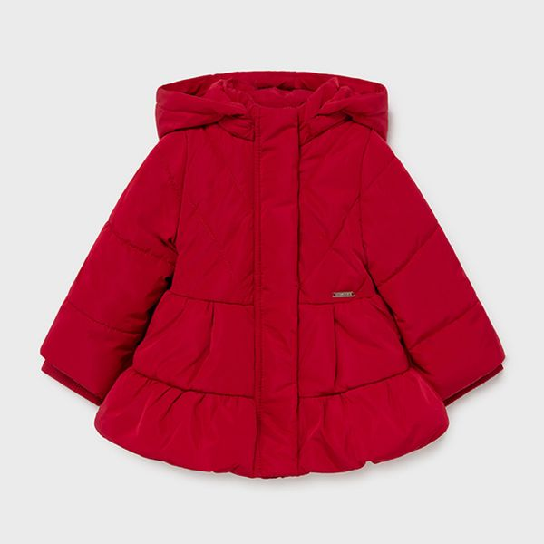 Picture of Mayoral Baby Girls Red Coat