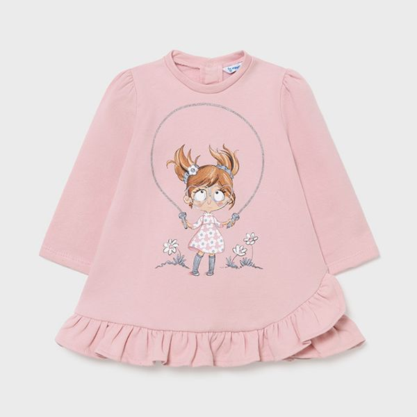 Picture of Mayoral Baby Girls Pink Dress