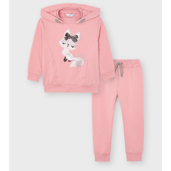 Picture of Mayoral Girls Pink Tracksuit