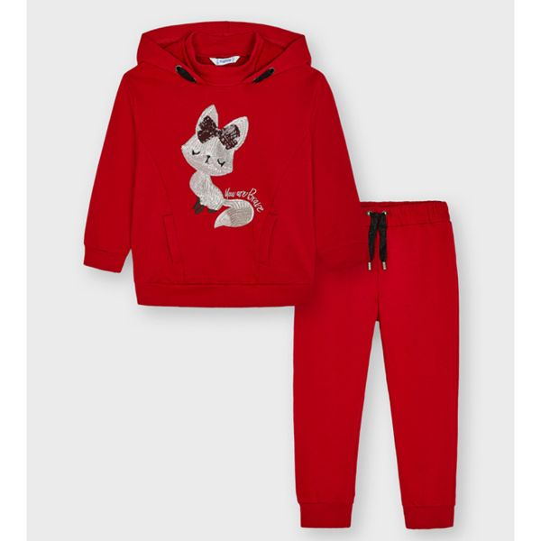 Picture of Mayoral Girls Red Tracksuit