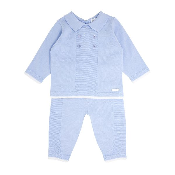 Picture of Blues Baby Blue Knitted Tracksuit