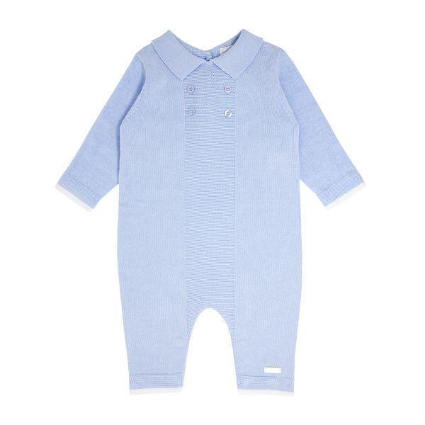 Picture of Blues Baby Blue Knitted Romper