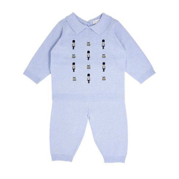 Picture of Blues Baby Blue Knitted 2 Piece Set